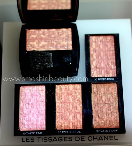 Les Tissages de Chanel Blushes