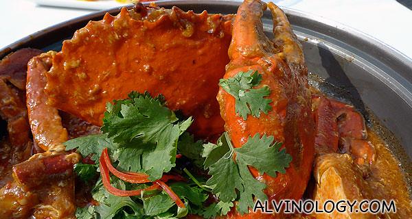 Jumbo's signature Chili Crab
