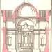 Igreja Matriz de Santa Ana-Secção transversal(espacato) do interior, permitindo ver o retábulo da capela-mor