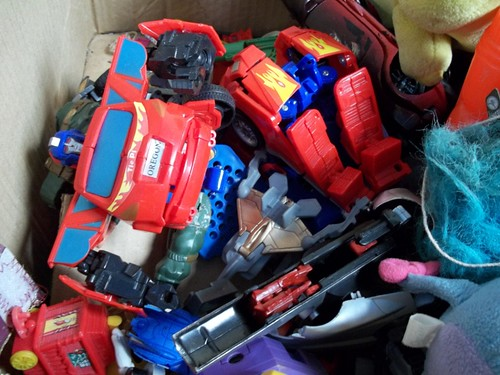 Optimus Prime and other broken toys