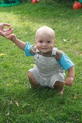 Happy Julian at 1 year old