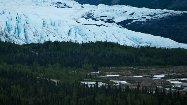 Matanuska Glacier and River