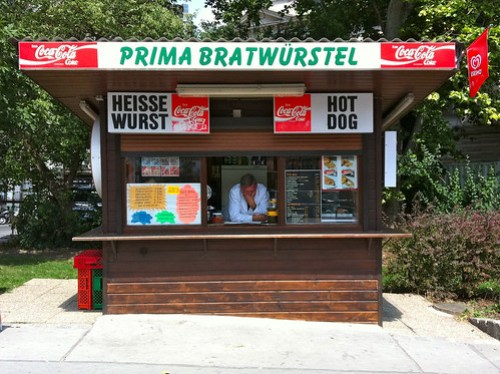 Slow Day at the Wurst Stand