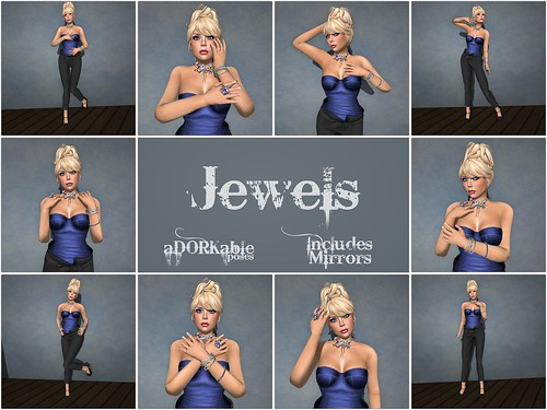 aDORKable Poses: Jewels