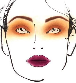 Kenzo Makeup Fall 2011