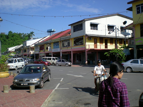 A section of Kanowit town