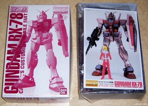 Event 1999  RX-78-CA Casval's # {Coating - Red} (1)