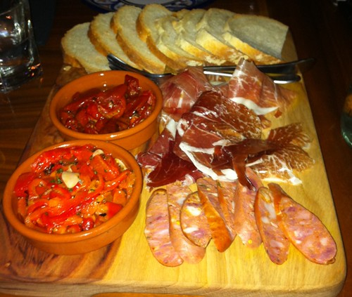 Spanish Board at Cheeky Sparrow