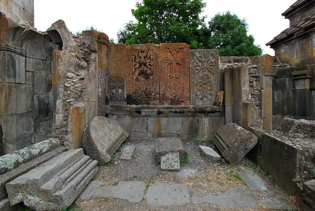 Khatchkars de Ketcharis, Arménie