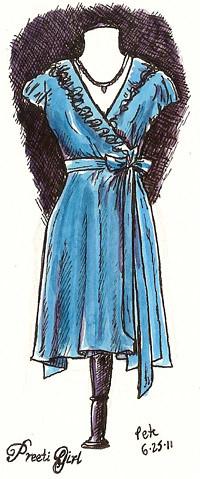 preeti girl dress