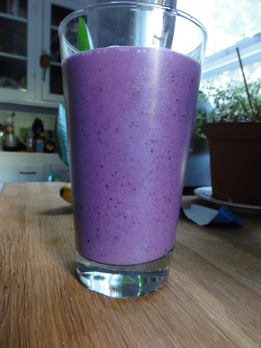 Mulberry smoothie