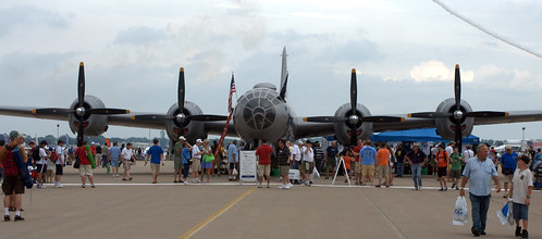 "B29 ""FIFI"" at Oshkosh 2011"