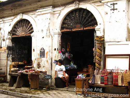 Vendor Waiting for Buyers in Calle Crisologo