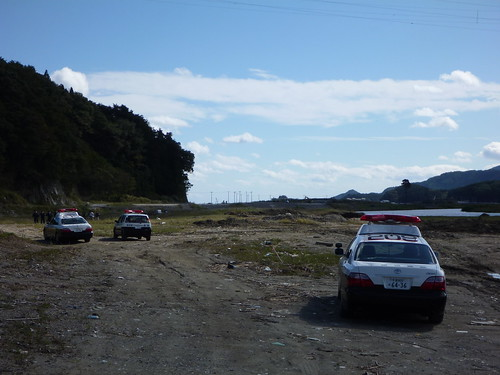陸前高田市竹駒町でボランティア(レーベン隊) Volunteer at Rikuzentakata, Iwate pref. Deeply Affected Area by the Tsunami of Japan Earthquake