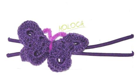 vincha mariposa