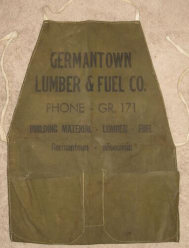 Vintage Lumber Apron