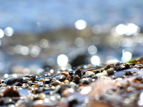light and seawater drops and pebbles - july 2011 edition