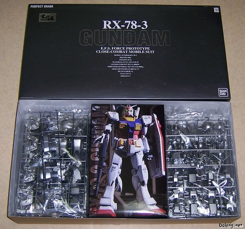 PG2003 {Coating-Museum Limited 800 box} - RX-78-3 (2)