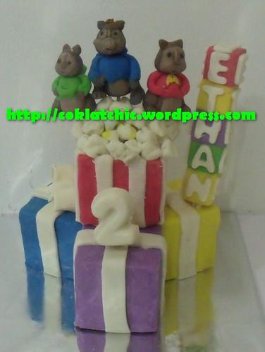 Miniature cake Alvin and the Chipmunk