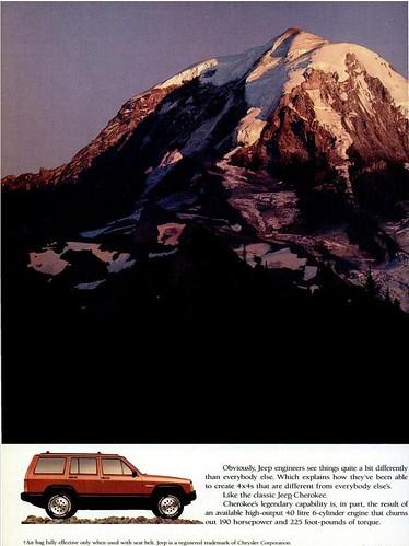1994 Jeep Cherokee Ad 2