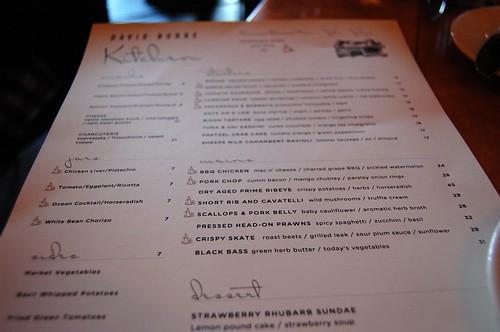 david burke kitchen   Notes on Food