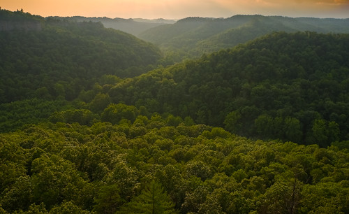 Red River Gorge Painterly