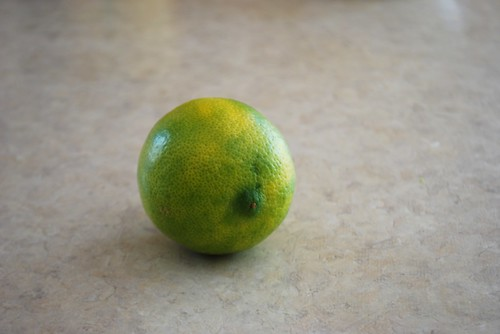 yellowing lime