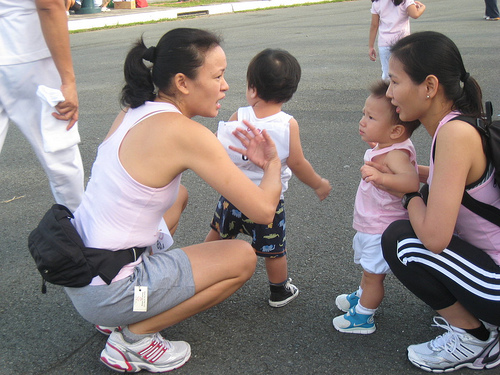 The FitMommy with Fit babies