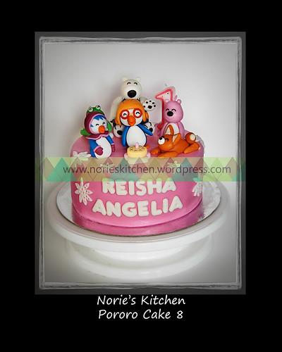 Norie's Kitchen - Pororo Cake 8 by Norie's Kitchen
