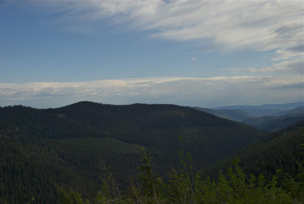North of Vermilion Pass