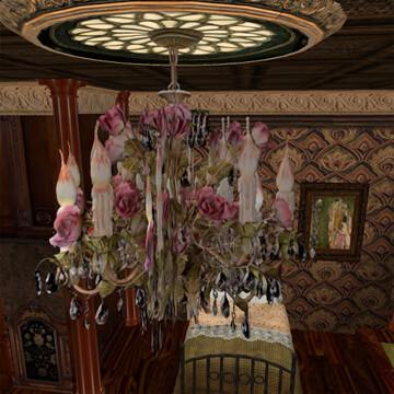 Moonbeams Rose Crystal Baroque Chandelier 50l$