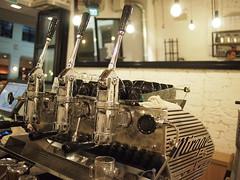 Three-group Mirage, Smitten Coffee & Tea Bar
