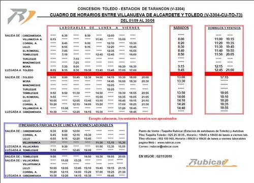 RUBICAR VILLANUEVA DE ALCARDETE-TOLEDO