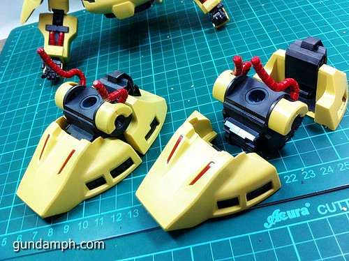 MG The-O PMX-003 Review OOB Build (31)