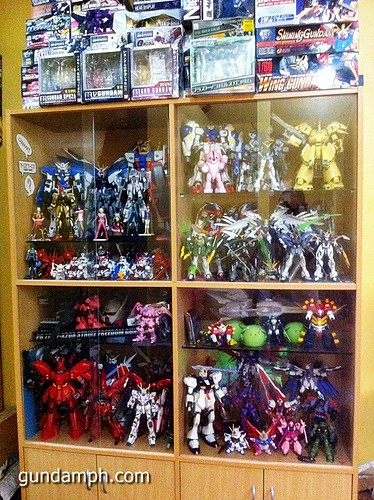 Gundams no place to display (1)