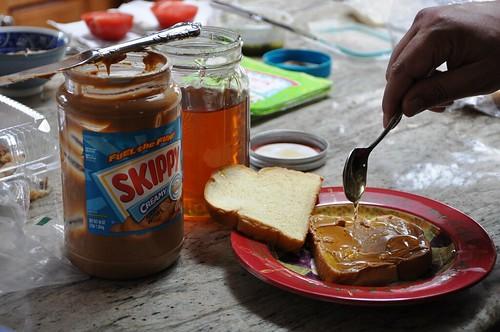 Peanut butter & GBR Mesquite honey