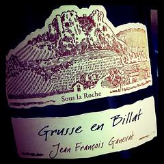 2007 Domaine Ganevat Chardonnay Grusse en Billat