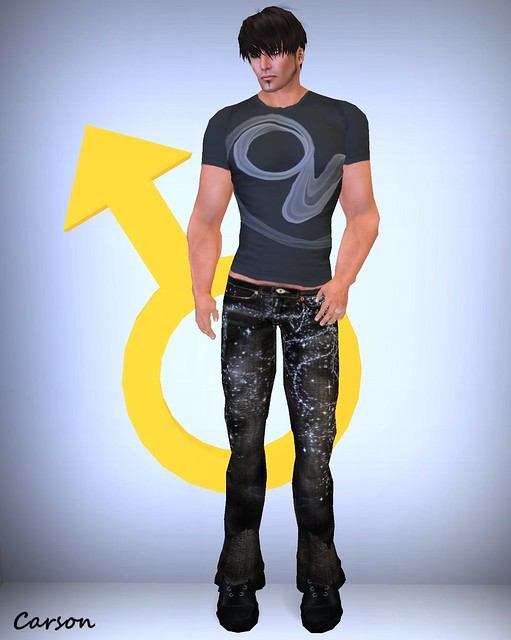 PEER Style - BGalaxy Jeans Smokin' Black Tee