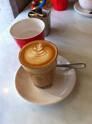 decaf latte, runcible spoon, camperdown