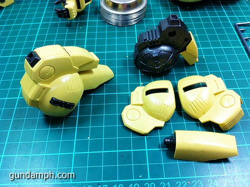 MG The-O PMX-003 Review OOB Build (28)