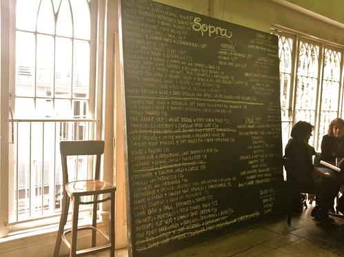 Cafe Sopra, Waterloo
