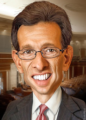 Eric Cantor - Caricature