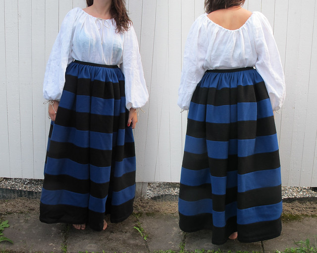 striped 16th century German - modeled