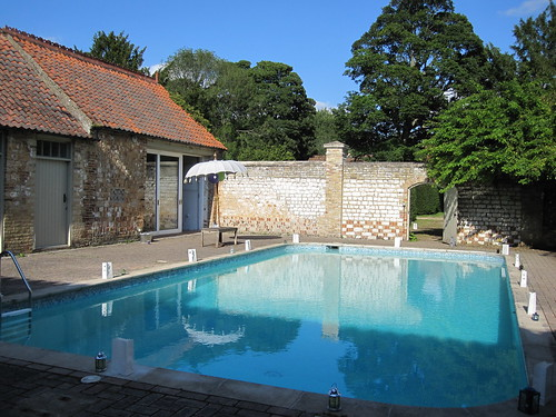 Narborough Hall pool