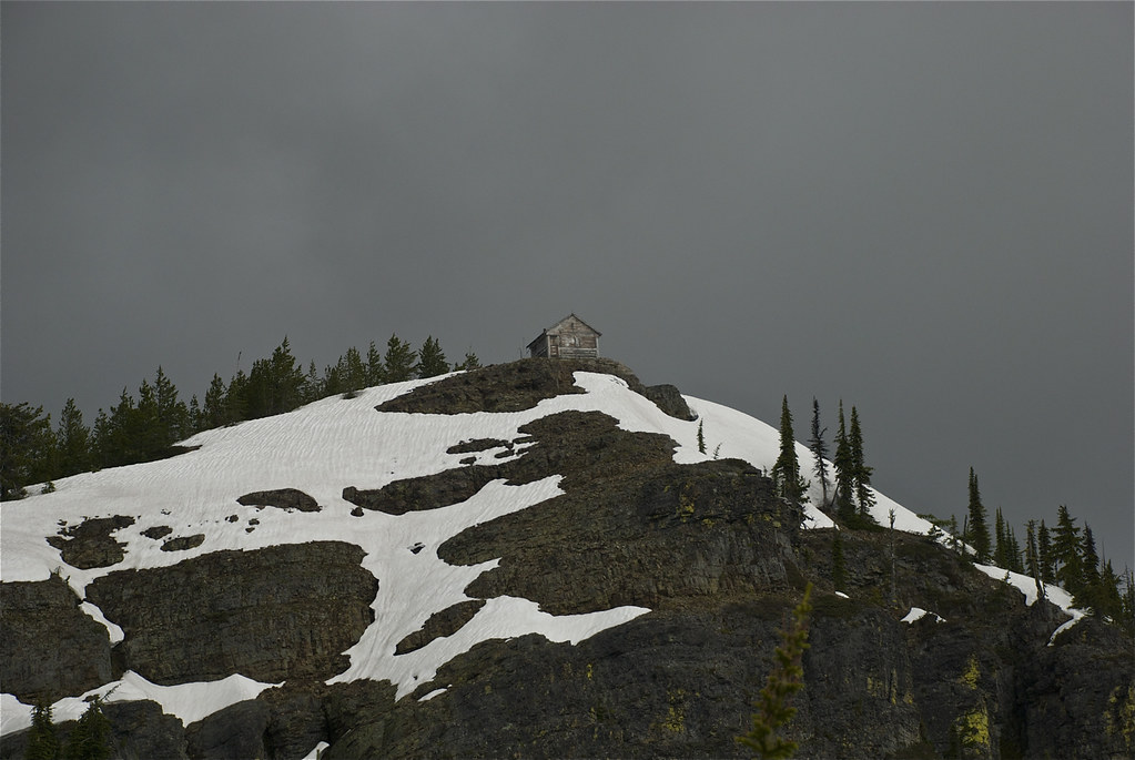Big Hole lookout on June 23