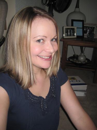 before hair