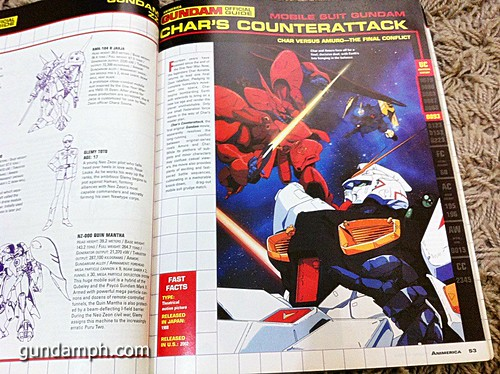 GN Sefer Animerica Gundam Official Guide MSV Collection (5)