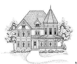 Fachadas para casas victorianas decorando mi hogar for Decorando mi hogar