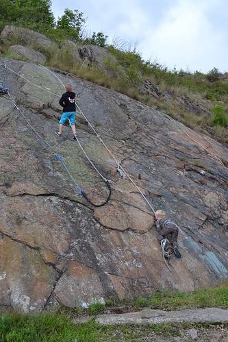 vince liam klättrar