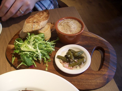 Le Bistrot Pierre - Rabbit & Sourdough